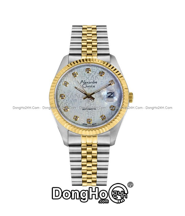 dong-ho-alexandre-christie-automatic-ac8a138a-mtgcrp-chinh-hang