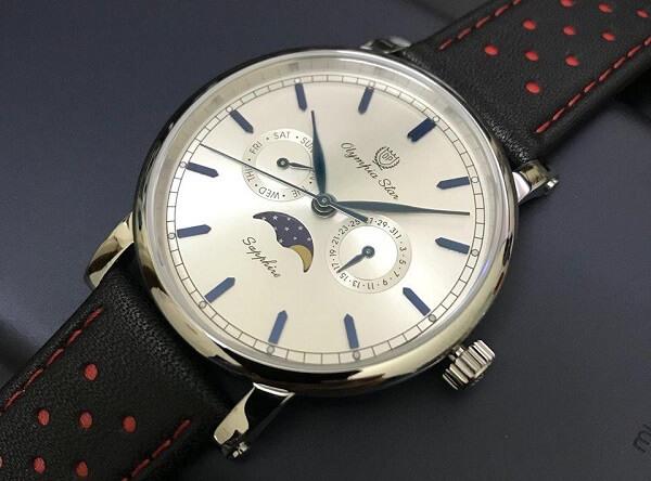 Cách phân biệt đồng hồ Olympia Star giả